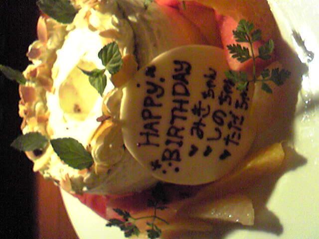 HAPPY BIRTHDAY♪*