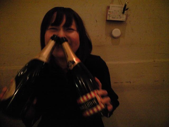 シャンパンパーティー