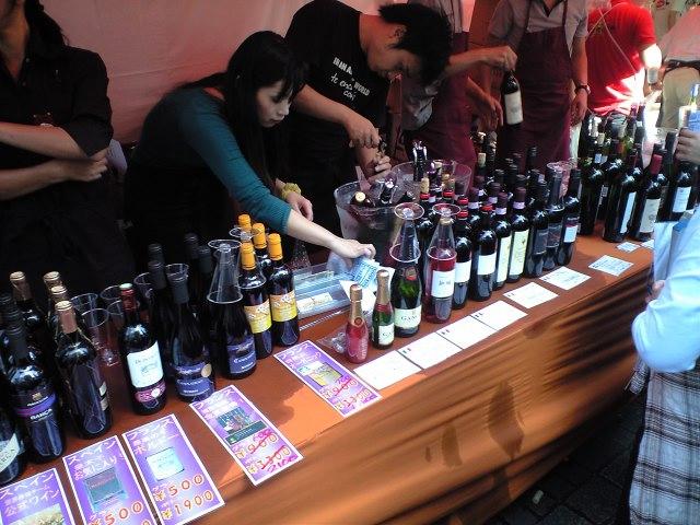 自由ヶ丘のワイン祭りに行ってきました!