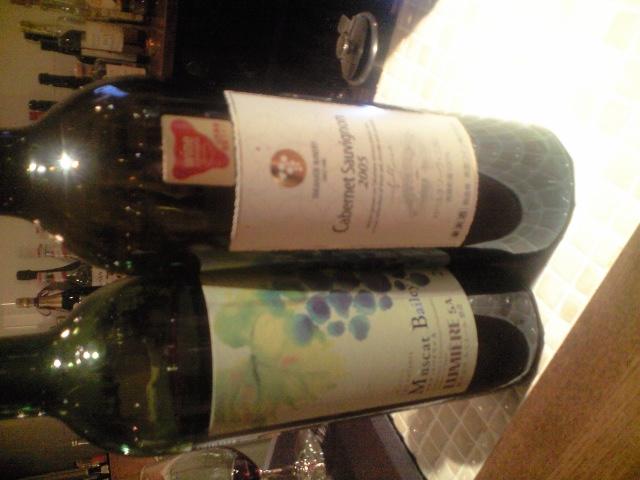 日本のワインと甲州ワイン地鶏