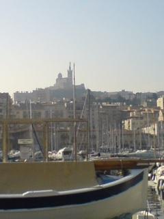 マルセイユの朝